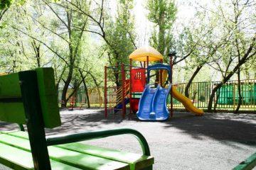 Асфальтирование детских площадок