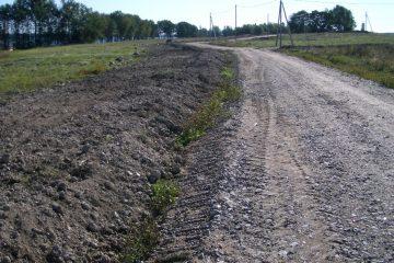 Строительство сельскохозяйственных дорог