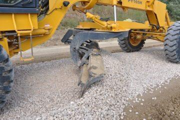 Строительство сельской дороги