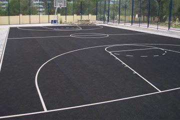 Асфальтирование спортивных площадок