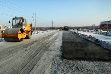 Cтроительство зимних дорог
