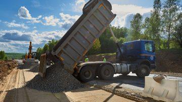 Подготовка к строительству дорог