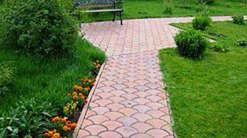 Устройство садовых дорожек