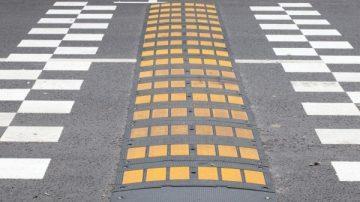 Устройство искусственной дорожной неровности
