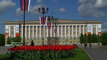 Благоустройство административных зданий