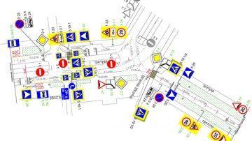 Проектирование организации дорожного движения
