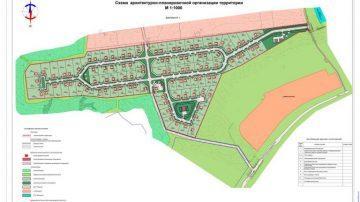 Разработка проектов планировки территории
