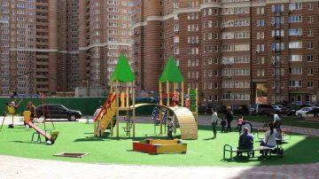 Строительство детской игровой площадки