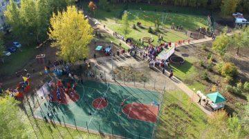 Строительство детских спортивных площадок