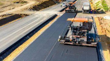Строительство цементобетонных покрытий автомобильных дорог