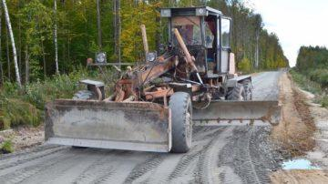 Строительство лесовозных дорог