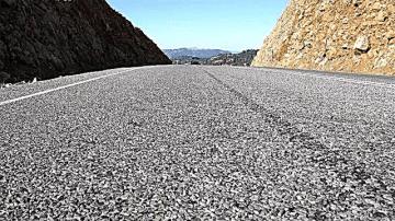 Строительство гравийной дороги
