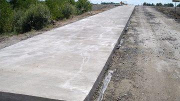 Строительство железобетонных дорог