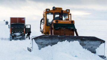 Строительство зимних автомобильных дорог