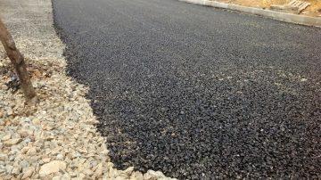 Строительство частных подъездных дорог