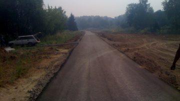 Строительство дороги в частном секторе