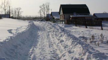Вывоз снега с участка